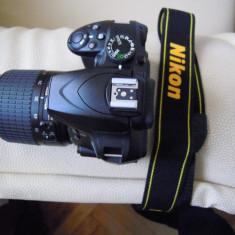 Nikon D3400+obiectiv 18-55+incarcator, in jur de 100 cadre - DSLR Nikon, Kit (cu obiectiv), Peste 16 Mpx, Full HD