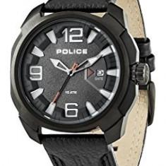 Ceas Police Texas PL.93831AEU/04 - Ceas barbatesc Police, Casual, Quartz, Piele, Data, Analog