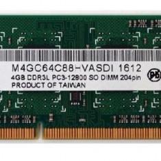 Memorie SODIMM 4GB 1600MHz DDR3L - Memorie RAM laptop