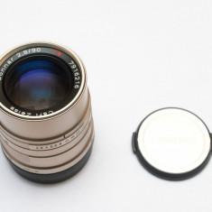 Obiectiv Carl Zeiss Sonnar T* 90mm f/2.8 pentru Contax G - Obiectiv DSLR Zeiss, Tele, Manual focus