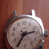 Ceas de mana - Ruhla - Ceas barbatesc, Mecanic-Manual