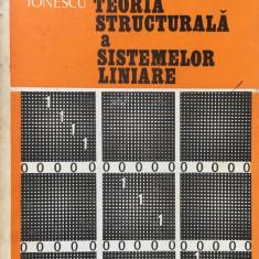 INTRODUCERE IN TEORIA STRUCTURALA A SISTEMELOR LINIARE - Vlad Ionescu - Carte Matematica