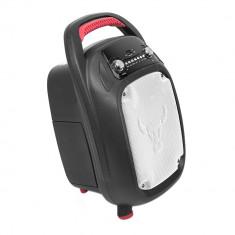 Aproape nou: Boxa portabila PNI FunBox BT506 30W cu Bluetooth MP3 player FM karaoke