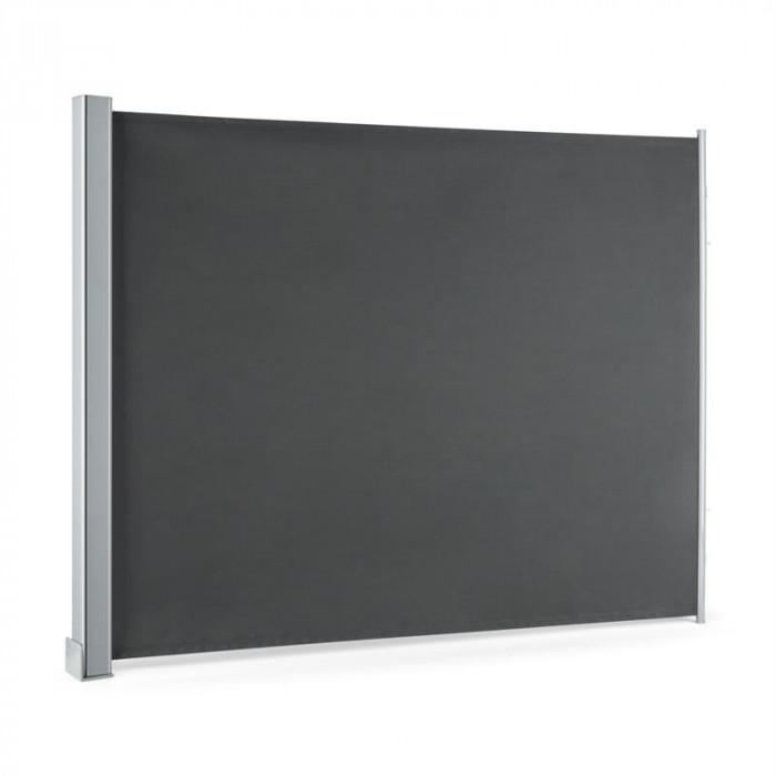 Blumfeldt COSMO, antracit, copertină de balcon, 3 în 1, acoperiș, 150x200 cm foto mare
