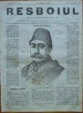 Ziarul Resboiul , nr. 27 , 1877 , gravura ; Hafiz Pasa