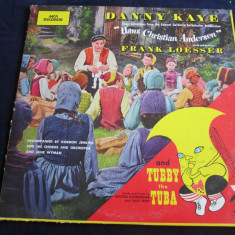 Danny Kaye - Hans Christian Andersen _ vinyl, LP, album, MCA(SUA) - Muzica soundtrack Altele, VINIL