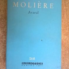 Moliere – Avarul - Carte Teatru