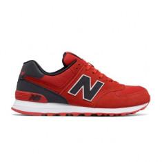 Pantofi New Balance 574 Rosu pentru barbati (NBAML574CND) - Adidasi barbati New Balance, Marime: 42, 44