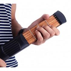 Chitara de buzunar, portabila, 6 corzi, ideala pentru incepatori