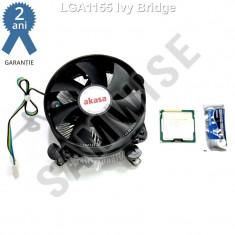 Procesor Intel Pentium G2030 3GHz Ivy Bridge FSB 1333MHz+Cooler Akasa 92mm+Pasta