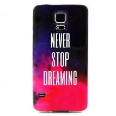 HUSA IMD GEL TPU SAMSUNG GALAXY S5 - BONUS FOLIE ECRAN - Husa Telefon Samsung, Negru