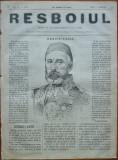 Ziarul Resboiul , nr. 19 , 1877 , gravura ; Dervis Pasa