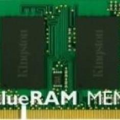 DDR3 SODIMM Kingston ValueRAM 4GB 1333MHz PC3-10600 CL9 1.5V - Memorie RAM laptop