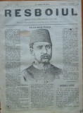 Ziarul Resboiul , nr. 16 , 1877 , gravura ; Negib Pasa