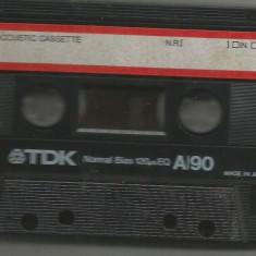 A(02)  Caseta audio-TDK A90