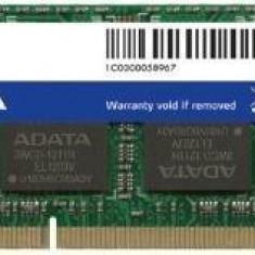 DDR3 SODIMM Adata 4GB 1600Mhz CL11 1.5V, Retail - Memorie RAM laptop