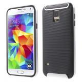 HUSA  HYBRID SAMSUNG GALAXY S5 - BONUS FOLIE ECRAN, Alt model telefon Samsung, Auriu, Alt material
