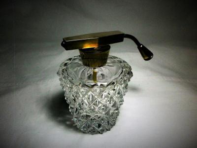 Parfumiera cristal Art Deco, colectie, cadou, vintage foto