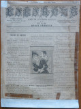 Gazeta literara vesela Kikirezu , an 1 , nr. 4 , 1894 , ziar umoristic
