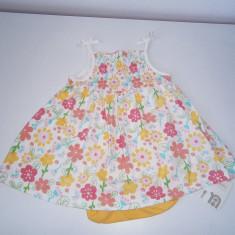 Rochita fetite 0-3 luni, Mothercare, cu body, noua!, Marime: Alta, Culoare: Din imagine