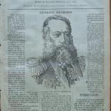 Ziarul Resboiul, nr. 13, 1877, gravura ; General Heimann