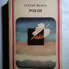 Lucian Blaga – Poezii - Carte poezie