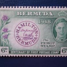 TIMBRE ANGLIA/COLONII BERMUDA