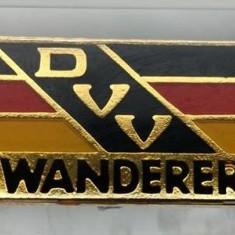 Insigna turism Germania excursie DVV Wanderer