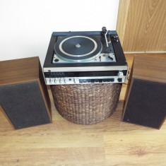 Sistem pickup + radio + boxe vintage DUAL KA 230, CL 240 - Pickup audio