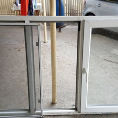 Vand geam termopan PVC folosit - Fereastra