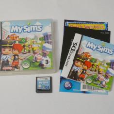 Joc consola Nintendo DS - My Sims - Jocuri Nintendo DS Altele, Actiune, Toate varstele, Single player