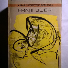Mihail Sadoveanu – Fratii jderi - Roman