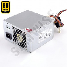 Sursa Dell 265W L265EM-00, 4 x SATA, 24-pin MB, Eficienta 80+ GOLD, GARANTIE! - Sursa PC