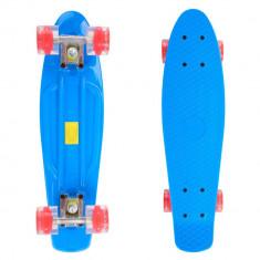 Penny board Maronad Retro cu roti iluminate - Skateboard inSPORTline