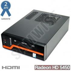 GATEWAY DS10G Q8200S 2.33GHz, 4GB, 500GB, HD 5450 512MB, DVI VGA HDMI, DVD-RW - Sisteme desktop fara monitor Gateway, Intel Core 2 Quad, 2501-3000Mhz, 500-999 GB, LGA775