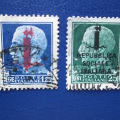 TIMBRE ITALIA SERIE STAMPILATA, Stampilat