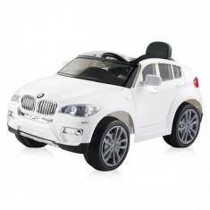 Masinuta Electrica BMW X6 White - Masinuta electrica copii Chipolino