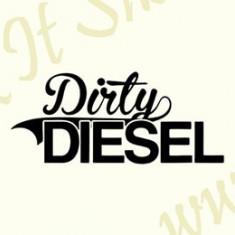 Dirty Diesel_Tuning Auto_Cod: CST-350_Dim: 40 cm. x 17.2 cm. - Stickere tuning