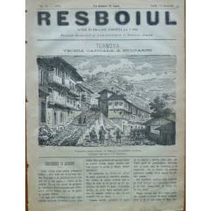 Ziarul Resboiul , nr. 24 , 1877 , gravura de Szathmary , Ternova