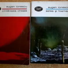 Eugen Ionescu – Cantareata cheala * Setea si foamea {Teatru, 2 volume} - Carte Teatru