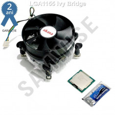 Procesor Intel Pentium G2020 2, 9GHz 1155 Ivy Bridge+Cooler Akasa 92mm+Plic pasta - Procesor PC Intel, Intel Pentium Dual Core, Numar nuclee: 2, 2.5-3.0 GHz