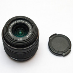 Obiectiv Olympus 14-42mm 1:3.5-5.6 II R MSC pentru micro 4/3 - Obiectiv DSLR Olympus, All around, Autofocus