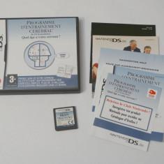 Joc consola Nintendo DS - Brain Training - Jocuri Nintendo DS Altele, Actiune, Toate varstele, Single player