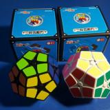 Cub Rubik ShengShou Megaminx 2x2 (Kilominx) Profesional - Jocuri Logica si inteligenta