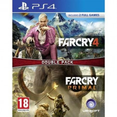 Far Cry 4 And Far Cry Primal Double Pack Ps4 - Jocuri PS4, Actiune, 18+