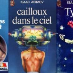 Isaac Asimov: 3 cărţi in franceză - Carte in franceza