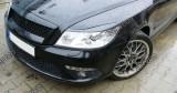 Pleoape faruri Skoda Octavia 2 Facelift ABS ver2