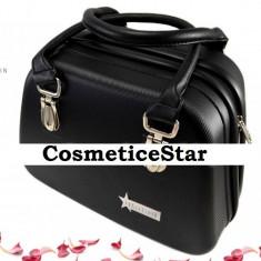 Geanta Fraulein38 Beauty Case depozitare Nuanta Negru - Geanta cosmetice