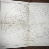 Harta Formatiunilor politice Romanesti sec XI- XIII , dim.= 33x24,7cm