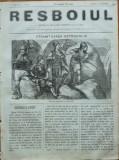 Ziarul Resboiul , nr. 31 , 1877 , gravura ; Stramtoarea Ostrogului